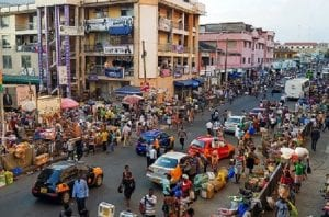 Streets of Accra, Ghana