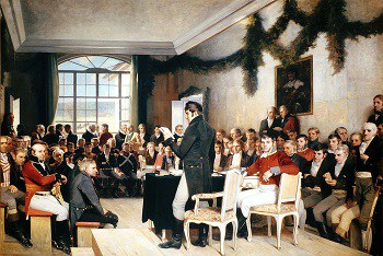 Norway adopts its Constitution