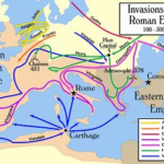 The Great Migration sweeps across Europe