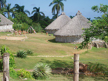 The Taíno people settle Cuba