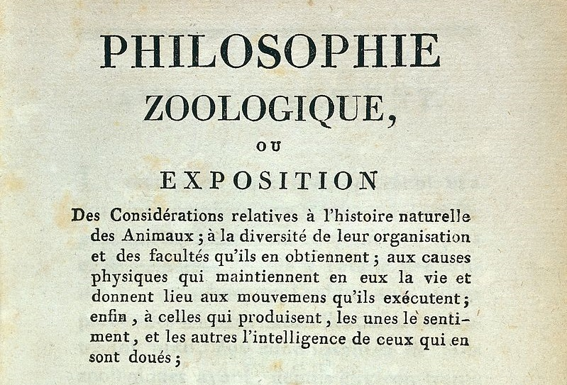 px Title Page of Lamarck Philosophie Zoologique Wellcome L