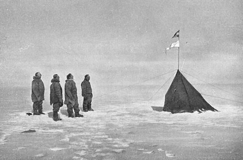 Roald Amundsen leads the first expedition to reach the South Pole