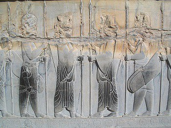 Cyrus the Great founds the Achamenid Persian Empire