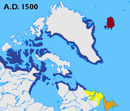 Thule culture emerges in the Arctic