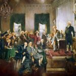 Constitutional Convention convenes in Philadelphia, marking new era of democracy