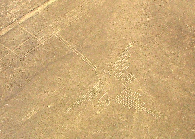 The Nazca people begin construction of the Nazca Lines in Peru