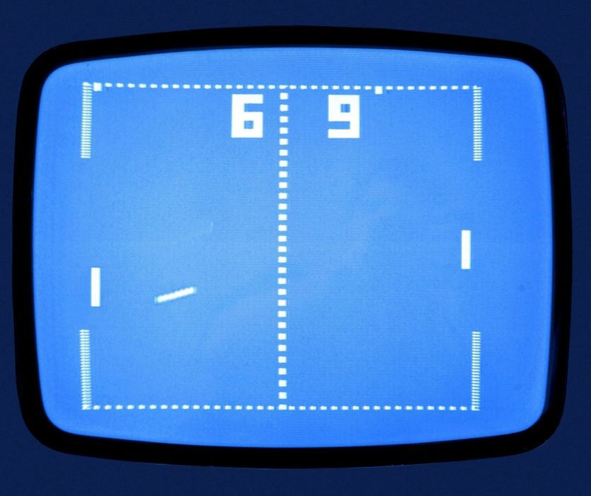 Atari releases Pong, the first commercially successful video game