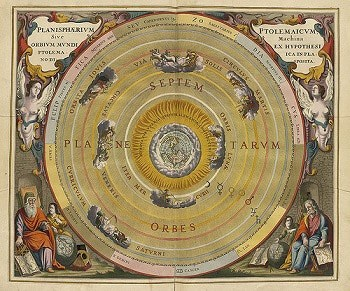 Copernicus discovers that Earth orbits the Sun