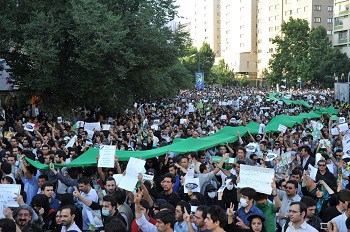 Iranians launch Persian Spring protests