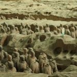 The Qin Dynasty unites China for the first time