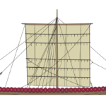 The Vikings invent the longship