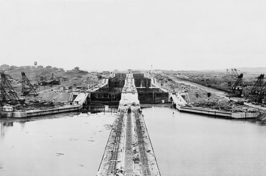 The Panama Canal officially opens