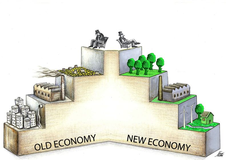 The new economy, in five minutes