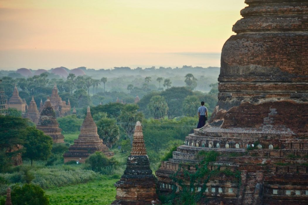 The Pagan Kingdom rises to power in modern-day Myanmar