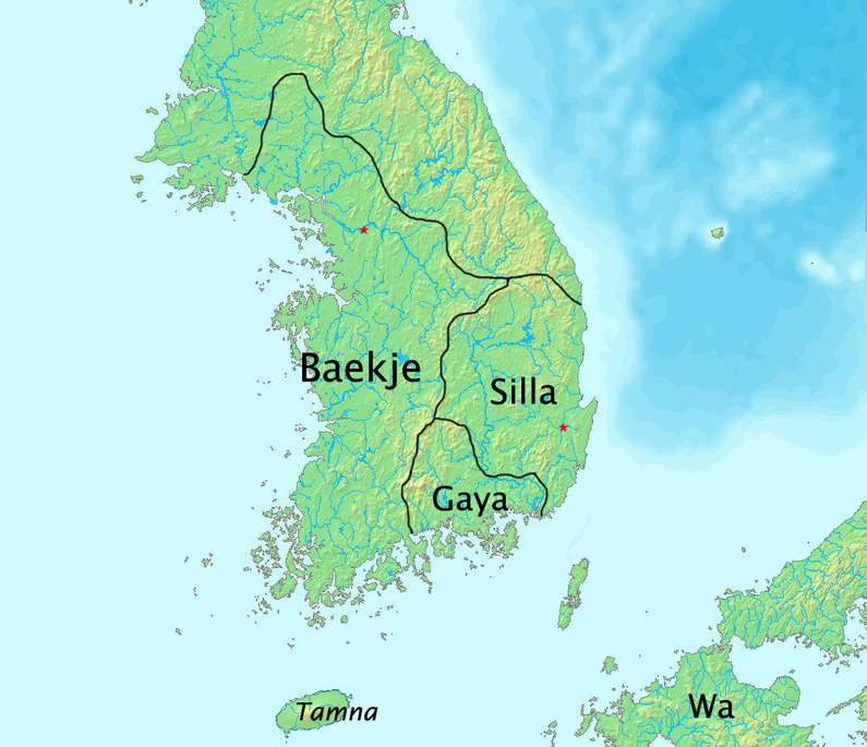 The Baejke kingdom thrives in modern-day Korea