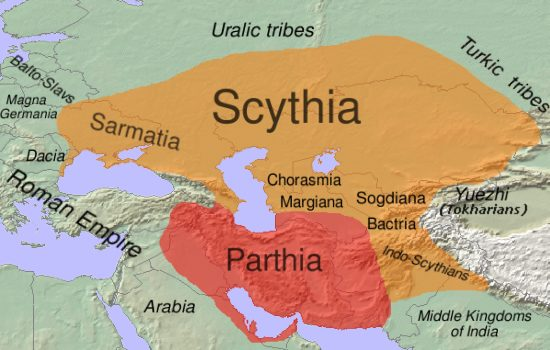 The first Scythian kingdom comes to power in Central Eurasia