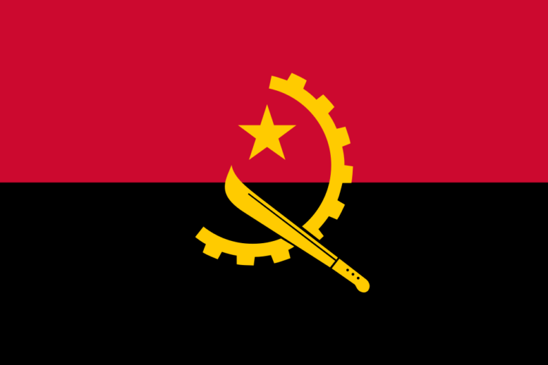 Angola achieves independence from Portugal