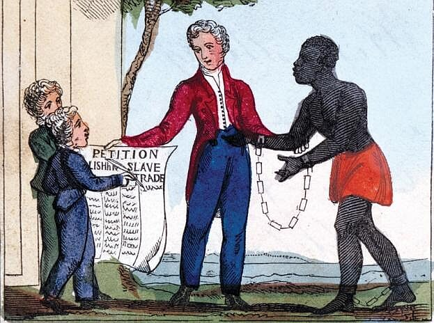 The Slavery Abolition Act 1833 abolished slavery in parts of the British Empire