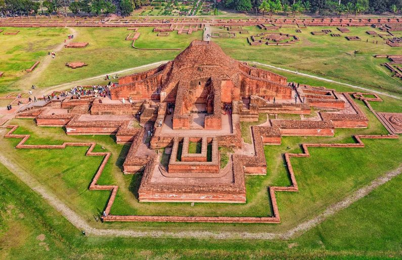 Construction of Somapura Mahavihara in modern-day Bangaldesh is completed