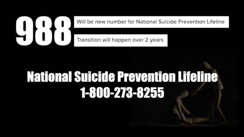 988 Suicide Prevention