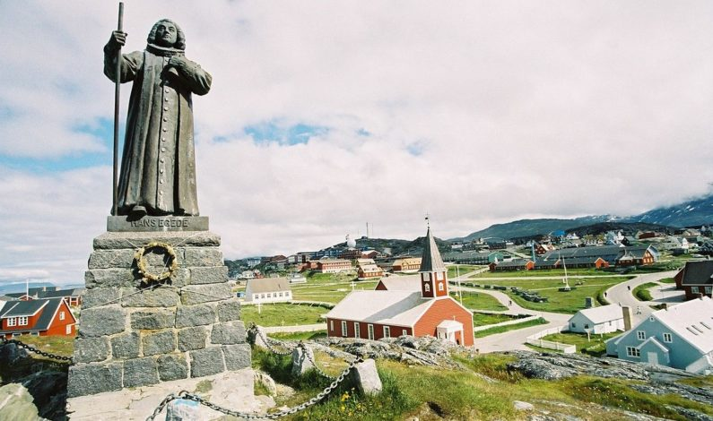 Hans Egede founds Greenland's capital Godthåb, now known as Nuuk