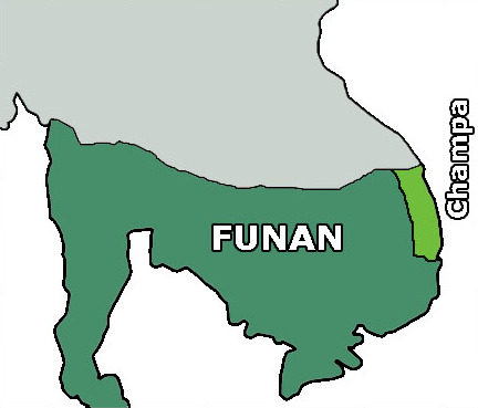 The Kingdom of Funan thrives in Southeast Asia