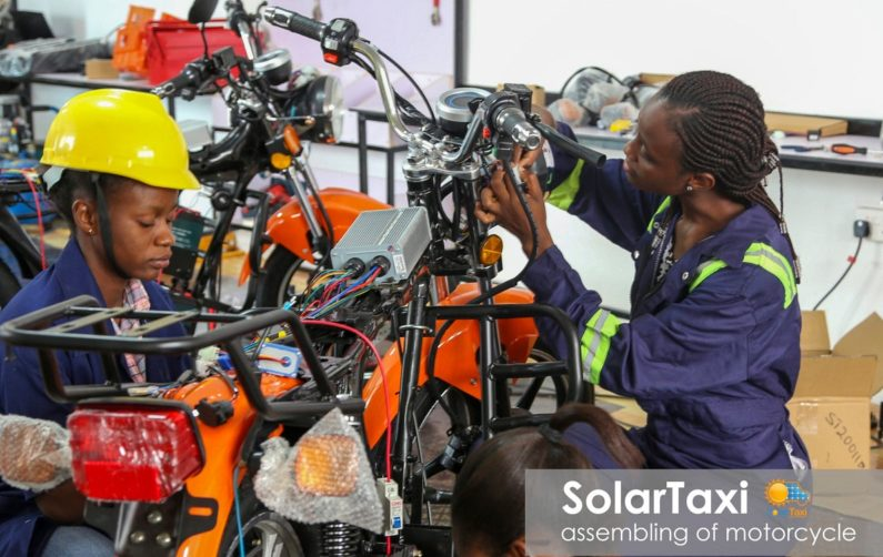 SolarTaxi's electric motorcycles charge up Ghana's on-demand delivery market