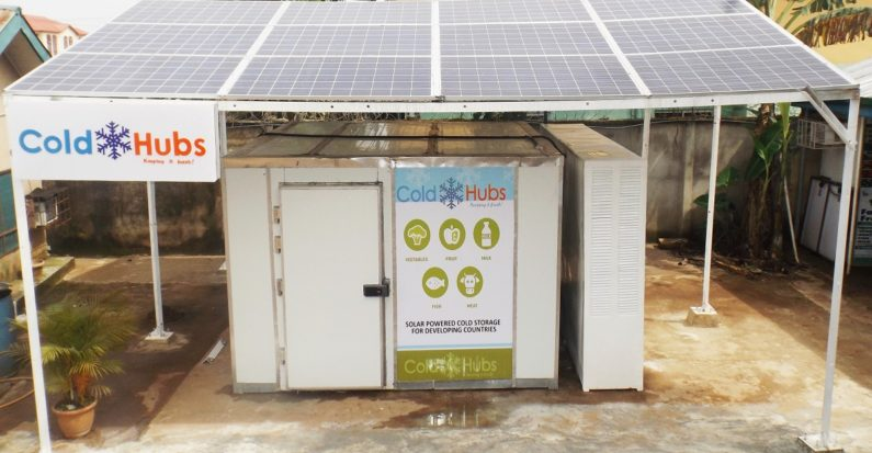 Solar-powered fridges are reducing food waste and hunger in Nigeria