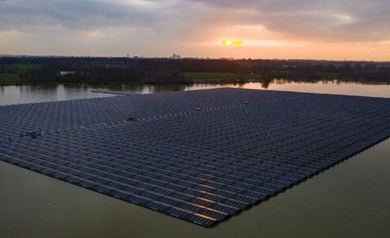 Largest floating solar park in Europe connected to grid in The Netherlands