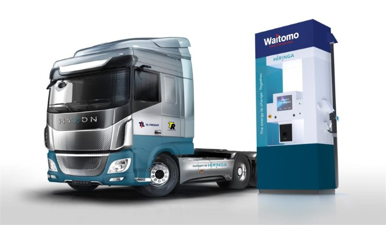 Zero-emission trucks set to make New Zealand a world leader in hydrogen energy