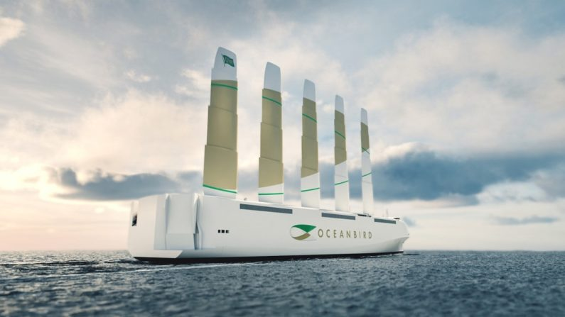 New design uses huge 80-meter sails to reduce cargo shipping emissions by 90%