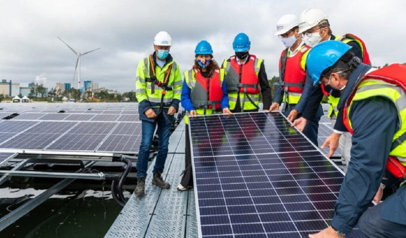 First-ever floating solar power plant in Belgium begins operation