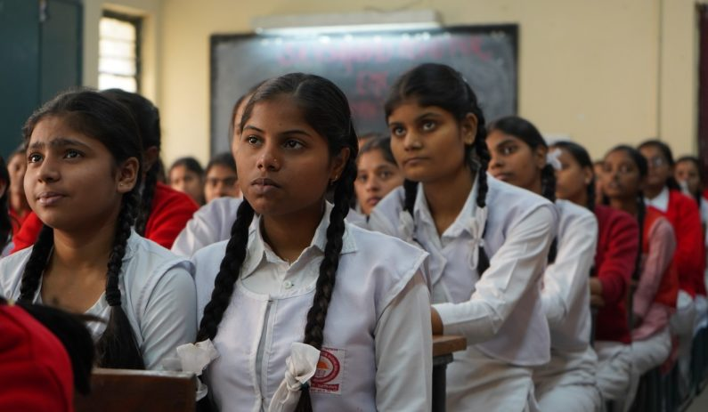 School enrollment for girls around the world has risen from 73% to 89% since 1995