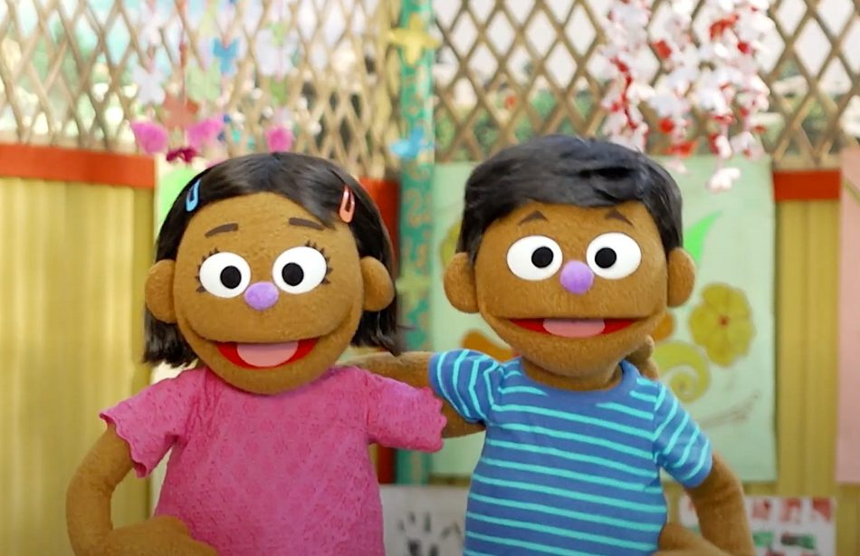 Sesame Street refugee characters