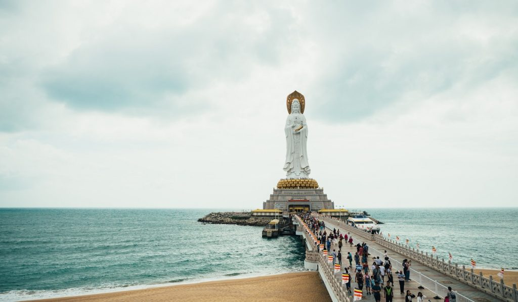 Nanshan Cultural Tourist Zone, Sanya, China