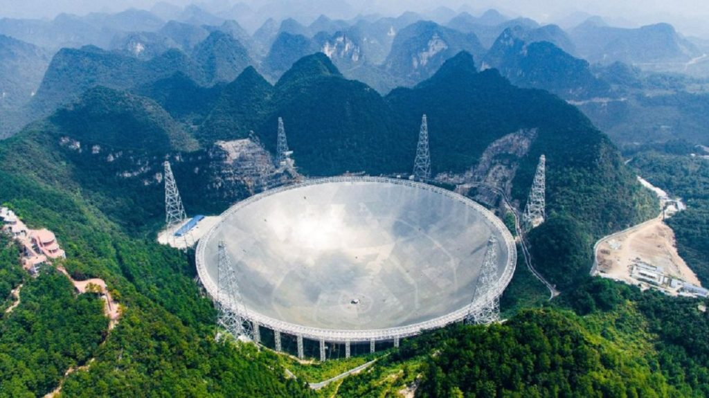 FAST Telescope in China