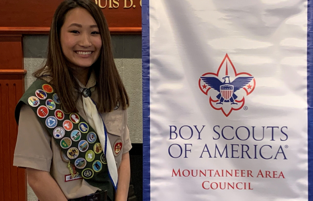 Female Eagle Scout
