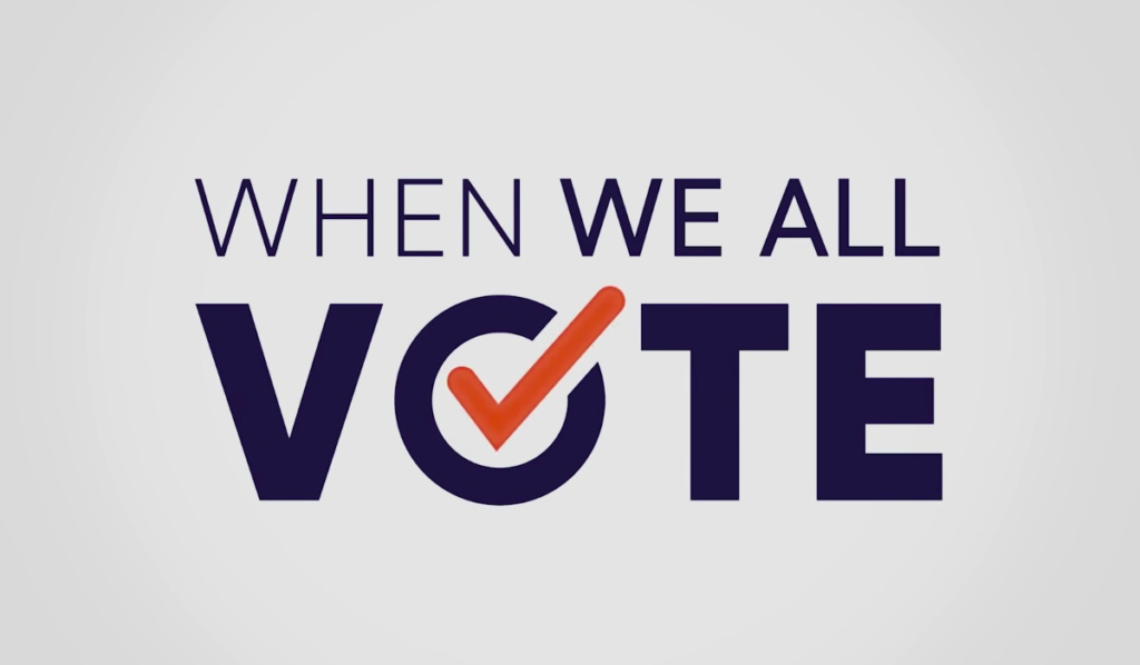 When We All Vote logo
