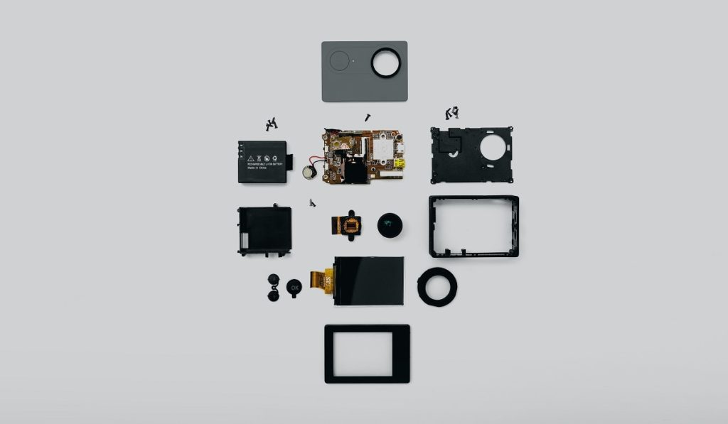 Parts of a electronic device