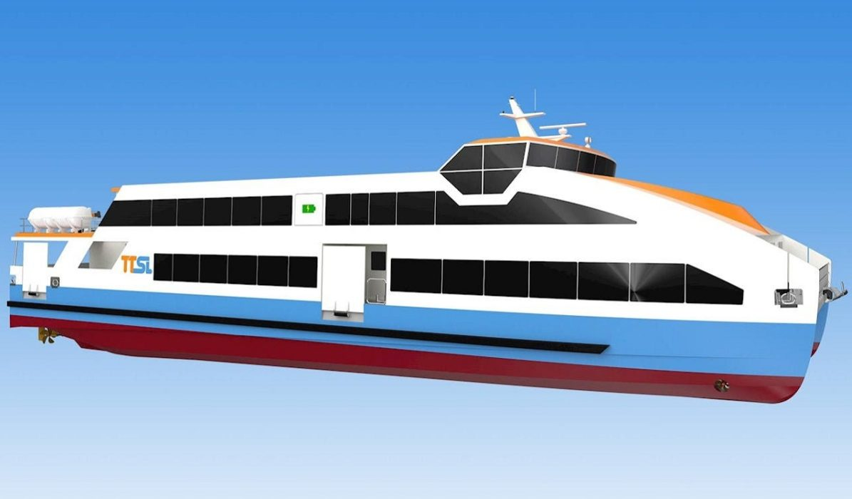 Electric ferry