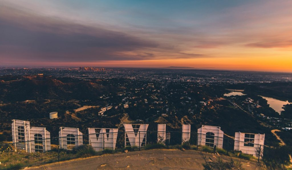 Behind LA's Hollywood sign